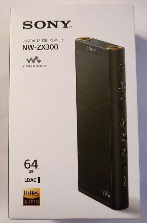 【送料無料】SONY  ソニー ウオークマン NW-ZX300/ブラック/65GB  (新同美品)