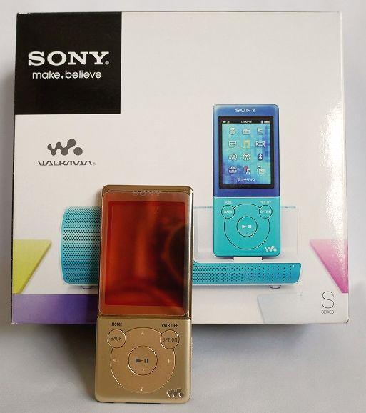 【送料無料】SONY  ソニー ウオークマン NW-S774K/8GB  (極美品中古)