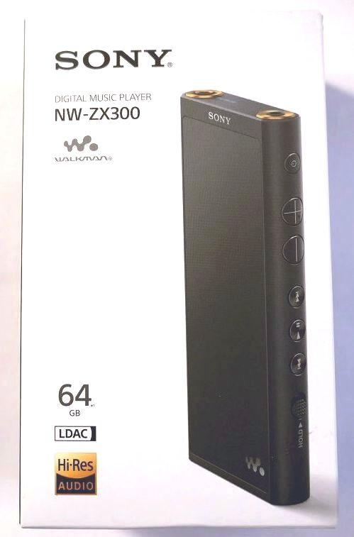 SONY  ソニー ウオークマン NW-ZX300/ブラック/65GB(新同美品)