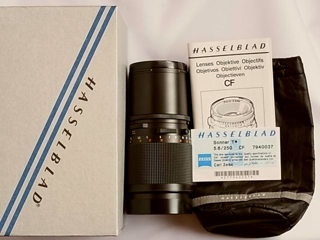 【送料無料】HasselBlad Sonnar CF250mm f5.6(極美品中古)