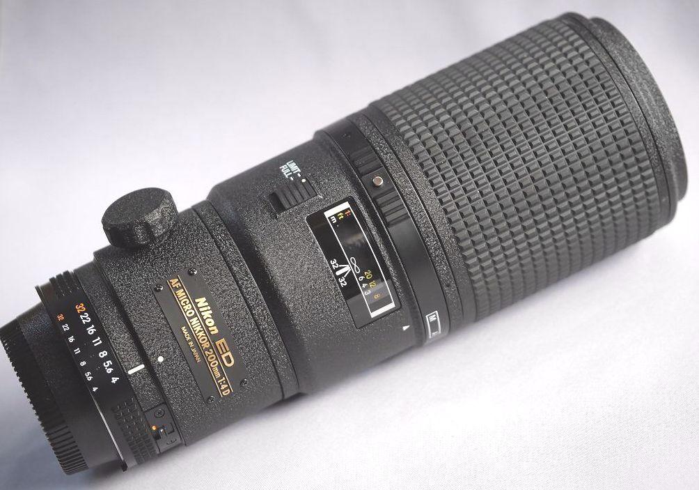 【送料無料】Nikonニコン AF Micro-Nikkor 200mm F4D IF-ED(新品同様)
