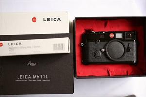 Leica M6 TTL/ミレニアム(ブラックペイント)(未使用新同美品)