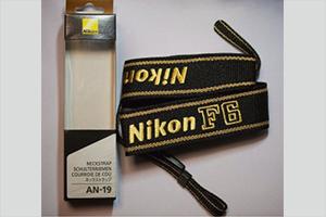 Nikon ニコン純正 F6 ストラップ/ANJ-19(新品)
