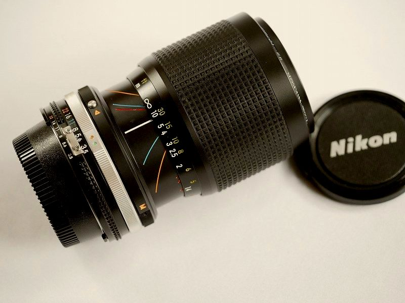 【送料無料】Nikon ニコンZoom NIKKOR  35~10mm F3.3~4.5s /MF(極美品中古)